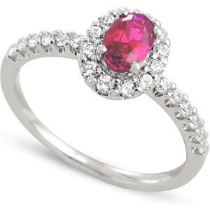Tous mes bijoux Bague en or ornée de diamants et de rubis - or