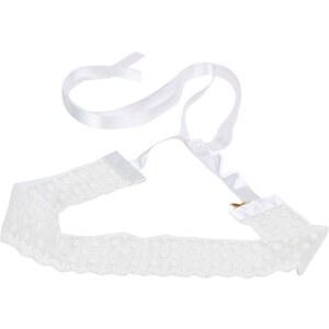 Les petites shanghaiennes mariage Sanya - Headband - blanc