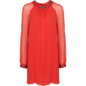 French Connection Robe tunique - rouille