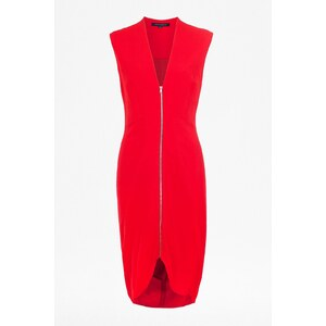French Connection Robe courte - rouge