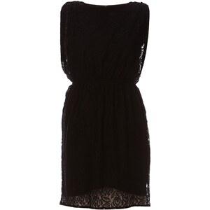 EDC By Esprit Kleid mit fließendem Schnitt - schwarz