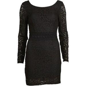 Vila Kleid mit kurzem Schnitt - schwarz