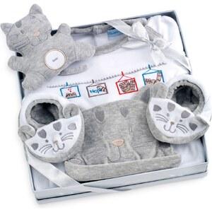 Les Bébés d Elysea Coffret cadeaux de naissance chat gris