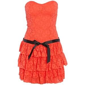 Morgan Robe bustier - orange