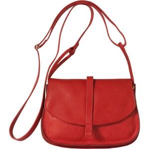 Mamix Ema Petit - Sac bandoulière en cuir - rouge