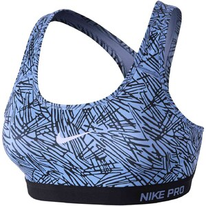 Nike Pro clsc pad palm prt - Sport-BH - blau