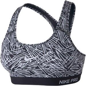 Nike Pro clsc pad palm prt - Brassière de sport - noir