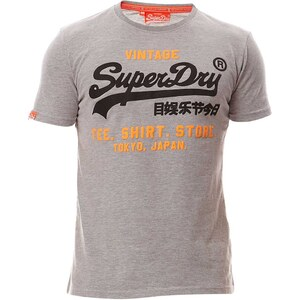 Superdry Shirt Shop - T-shirt - gris