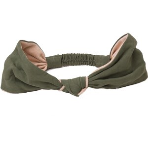 Les petites shanghaiennes Anyuan - Headband - Vert olive