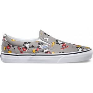 Vans Classic Slip-On (Disney) Mickey - Slippers - dunkelgrau