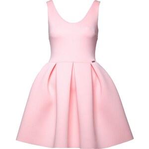 Figl Kleid mit kurzem Schnitt - rosa