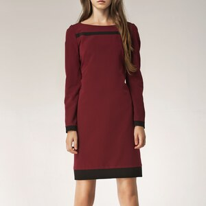 Nife Robe - bordeaux
