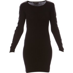 Best Mountain Kleid Pullover - schwarz