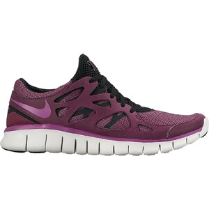 Nike Free Run 2 - Mary Janes - bordeauxrot