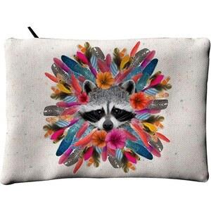 Laissez Lucie Faire Raccoon - Pochette plate - multicolore