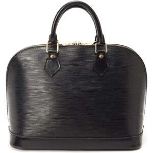 Louis Vuitton Alma - Sac à main Louis Vuitton - en cuir Epi noir