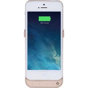 The Kase iPhone 5/5s/5c - Coque avec batterie 2000 mAh - or