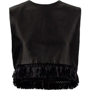 Lylee Blu Bengaluru - Top en cuir - noir