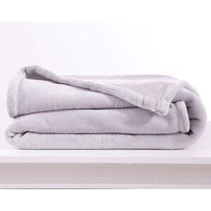 Becquet Couverture doudou 250 g/m² - blanc perle