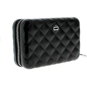 Ögon designs Quilted Zipper - Porte-cartes matelassé - noir