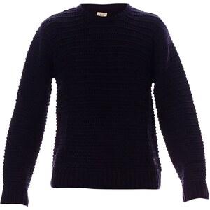 Lee Pull en laine mélangée - bleu marine