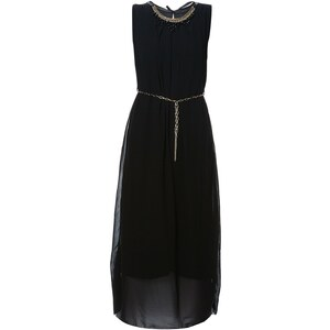 Le dressing d'Alisson Robe fluide - noir