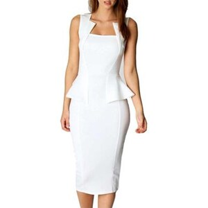 Chic Dresses Robe cocktail - blanc