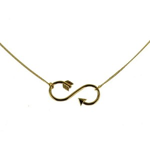 Leticia Ponti Arrow infinit - Collier - or
