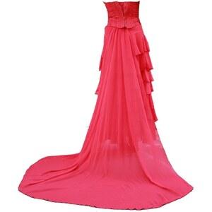 Chewö Couture Monté carlo - Robe bustier - rouge