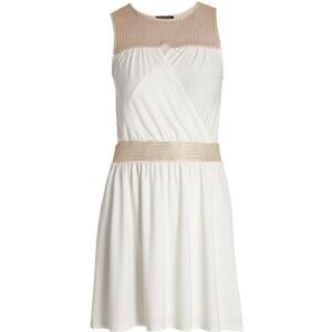 Morgan Robe drapée - blanc