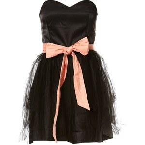 Naf Naf Kleid mit kurzem Schnitt - schwarz
