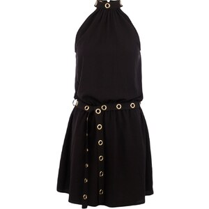 Morgan RIVA - Robe droite - noir
