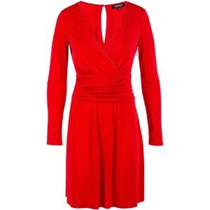 Morgan Radel - Robe fluide - rouge