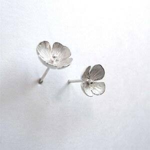 Lucy Luce Boucles d'oreilles en argent - argenté