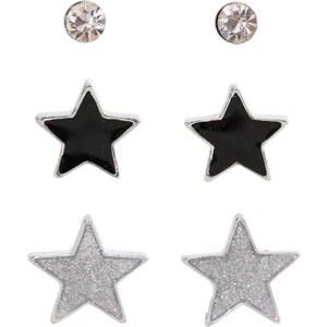 Marc Labat Lot de 3 boucles d'oreilles - argenté