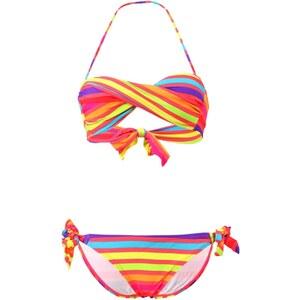 Dag Adom Stripy - Maillot de bain 2 pièces - multicolore
