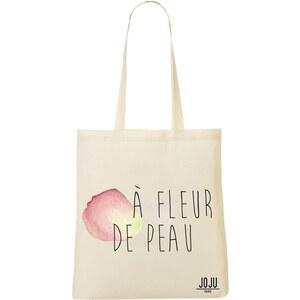 Joju A fleur de peau - Sac shopping - beige