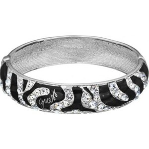 Guess Wild At Heart - Bracelet jonc - argent