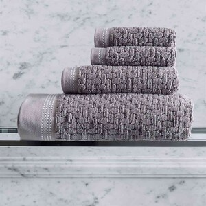 Le Jacquard Français Couture - Serviette de bain - gris