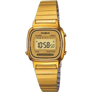 Casio Casio Collection Retro - Style casual - jaune