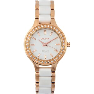 DKNY Ceramic - Montre analogique - multicolore