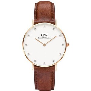 Montre Daniel Wellington Classy St Mawes Rose Gold 34 mm
