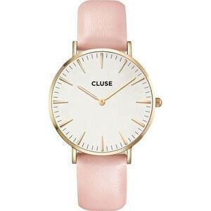 Montre Cluse La Bohème Gold White/Pink