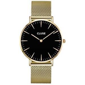 Montre Cluse La Bohème Mesh Gold/Black