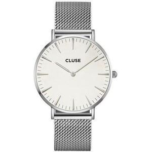 Montre Cluse La Bohème Mesh Silver/White