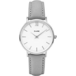 Montre Cluse Minuit Silver White/Grey
