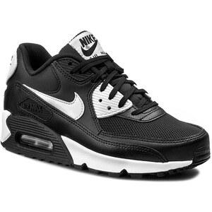 Schuhe NIKE - Air Max 90 Essential 616730 023 Black/White/Metallic Silver