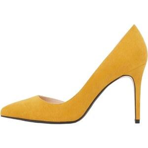 Mango Escarpins - jaune