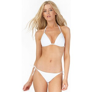 Only Damen Cila Bikini Weiß