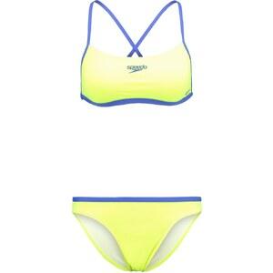 Speedo Bikini fluoyellow/deep peri